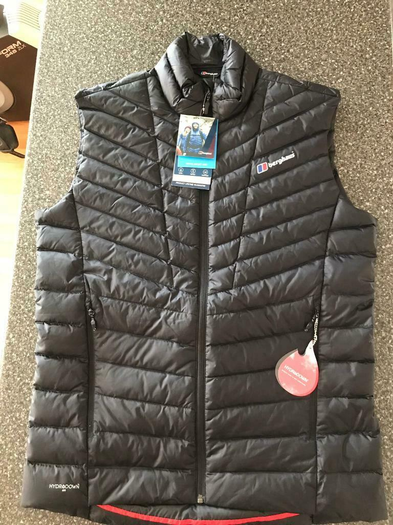 attractive price classic style aliexpress Men's Berghaus Tephra Reflect HydroDown Vest Bodywarmer / Gilet Size Large    in Sheffield, South Yorkshire   Gumtree