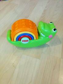 Crocodile stacking toy