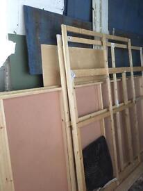 Wooden frames for canvas etc.