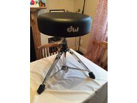 DW drum stool seat dwcp9100m - never gigged 9000 series