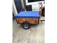 wooden trailer for sale