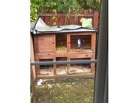 2 tier Rabbit hutch.
