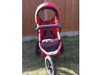 Phil & Teds Double pushchair buggy and cocoon