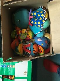 Box's of baby toys