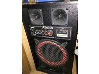 "Fenton PRO 10"" 600W HOME ACTIVE SPEAKERS"