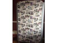 Upcycled Wardrobe - Grey Retro Doors