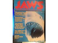 JAWS The Official Magazine of The Film 1975 original