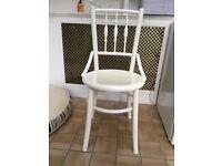"2 kitchen chairs ""Cowboy"" style"