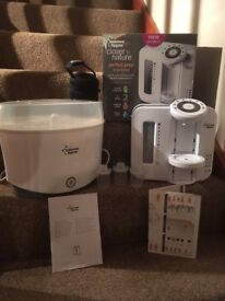 Tommee Tippee Perfect Prep and electric steriliser