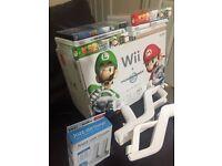 Ninteno Wii + Mario Kart