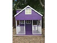Mercia Double Storey Cottage Playhouse - 7 x 7 ft
