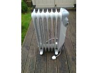 large oil filled electric radiator