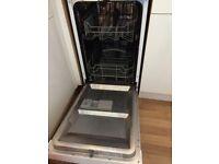 As new Slimline Dishwasher, Currys ESSENTIALS Model CDW45W16