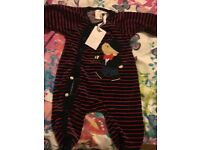 *Brand new* baby boys designer sleeping suit 0-3 months £6 only