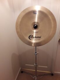 Bosphorus 18in china cymbal.excellent condition.