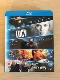 5 movie starter boxset (Blu-Ray)