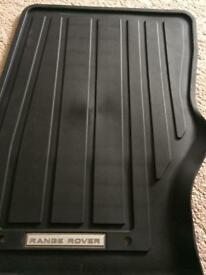 Range Rover Rubber Mats (New)
