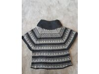 Fat face poncho size s/m
