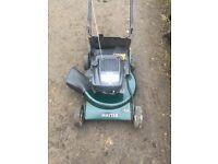 Hater double 3 rough cut mower