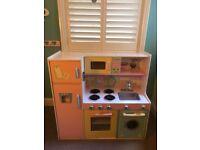 Wooden toy children's kitchen