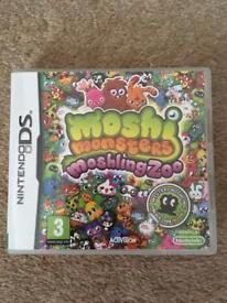 Moshi monsters moshing zoo DS game