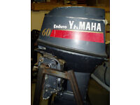 Yamaha 60 outboard for spares or repair
