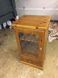 Pine Music cabinet