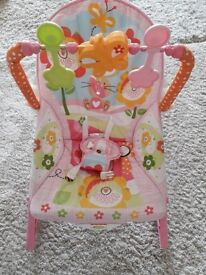 Fisher price infant to toddler rocker bouncer