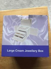 Large Jewellery Box - brand new