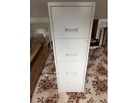Stainless Steel A4 Filing Cabinet - 4 Drawer