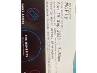McFly Tickets x2 Birmingham