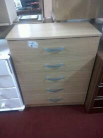Chest of drawers tcl 18034. Brand new