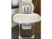 Graco DuoDiner Highchair and Booster seat in one