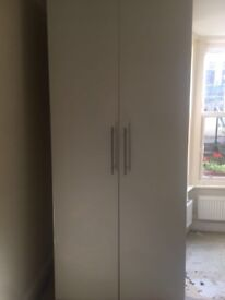 2 double door wardrobes