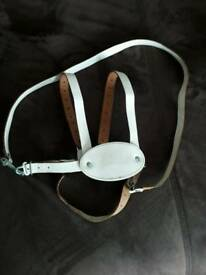 Child's leather safety harness reins