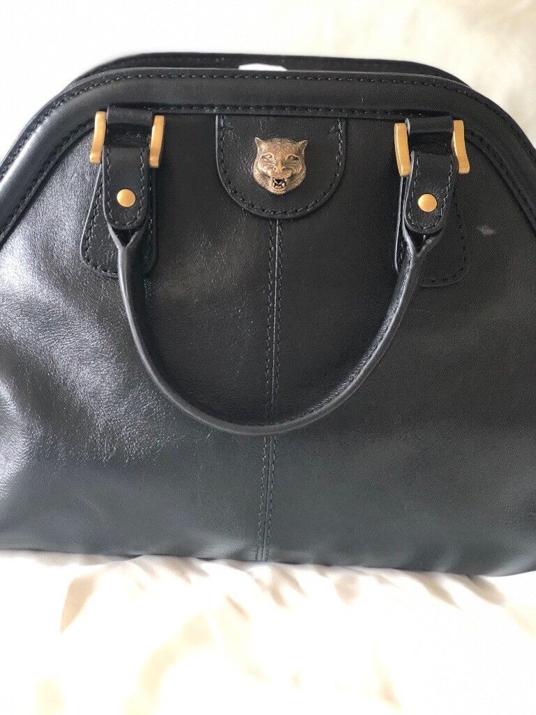 2970b73dd61a Gucci Rebelle Medium Handbag Black | in Penarth, Vale of ...