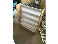 Argos sling bookcase natural RRP £20