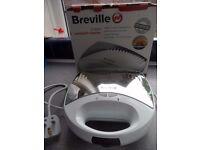 Breville VST037 2-Slice Sandwich Toaster in White - Boxed
