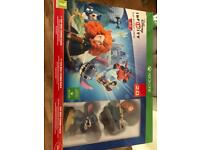 X Box One Disney Infinity 2.0 Toy Combo Pack with extra figures