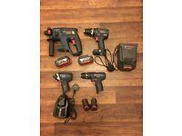 Bosch Professional Drills & Impact Driver. GSB 18 V-EC, GBH 18 V-EC, GSB 10.8-2-LI, GDR 10.8-LI