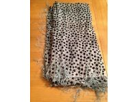 Sparkly Star square shawl/scarf