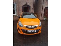 Excellent condition Vauxhall Corsa Limited Edition Eco Flex