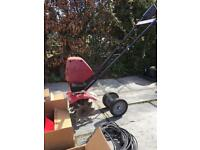 Mantis Tiller with Lawn/Garden Care Attachments