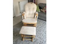 Mothercare reclining glider nursing chair