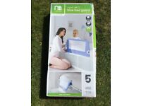 Blue Bed Guard Mothercare