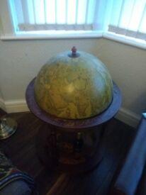 Beautiful Globe Drinks Cabinet