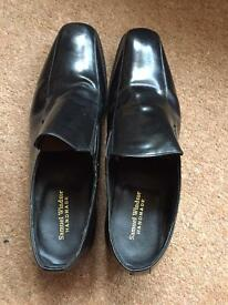 Size 14 Real Leather Samuel Windsor shoes