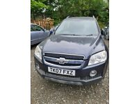 BREAKING FOR PARTS ONLY CHEVROLET CAPTIVA 2007 2.0 DIESEL AUTOMATIC