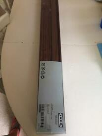 IKEA wooden blinds.