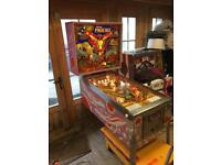 Pinball machines for sale from £995